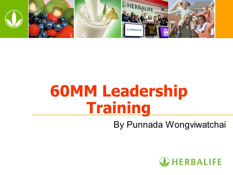 60MM Leadership Training