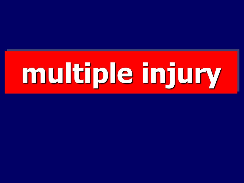 multiple injury