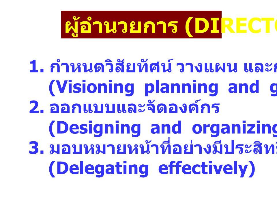 ผู้อำนวยการ (DIRECTOR)