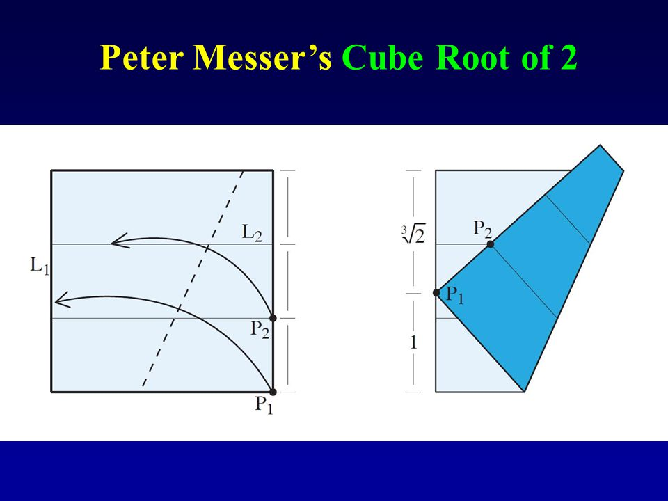 Peter Messer's Cube Root of 2