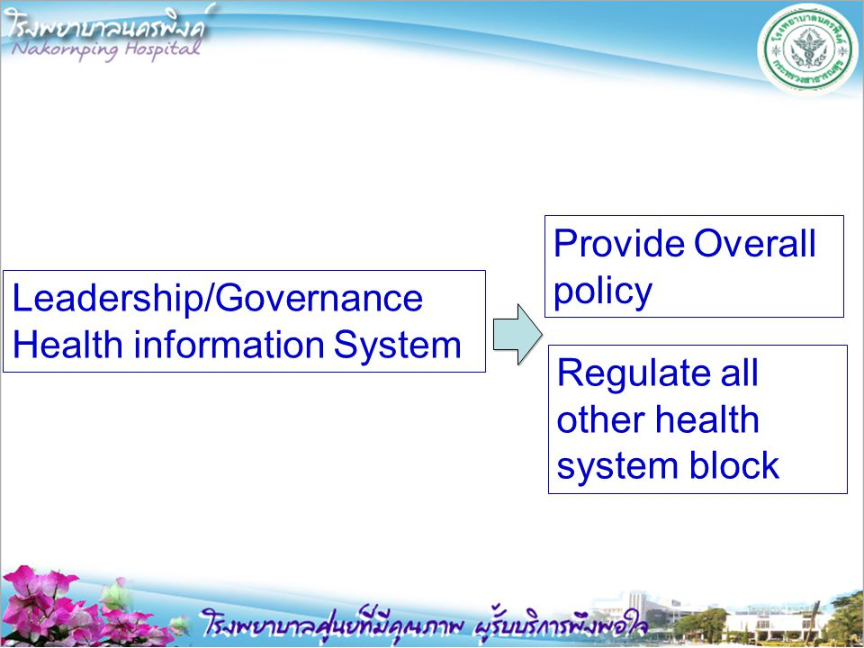 Provide Overall policy