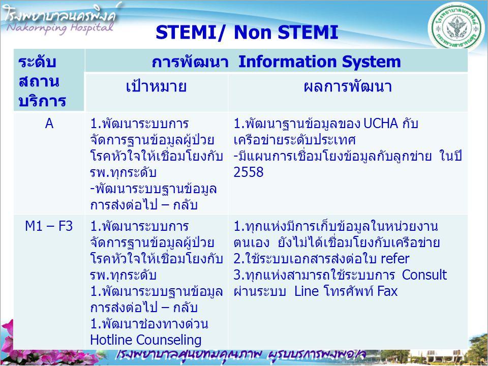 การพัฒนา Information System
