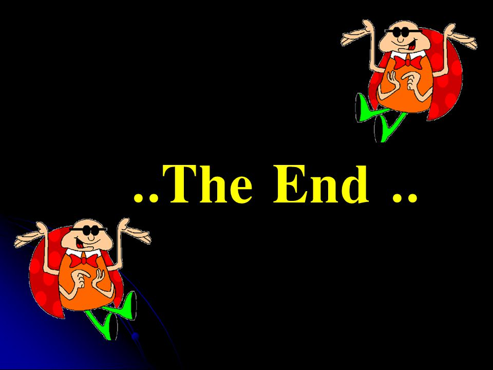 ..The End ..