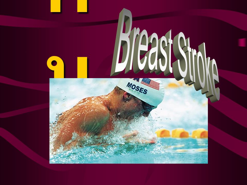 กบ Breast Stroke