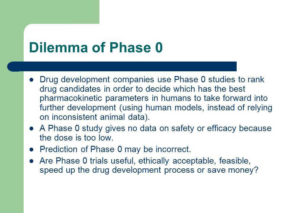 Dilemma of Phase 0