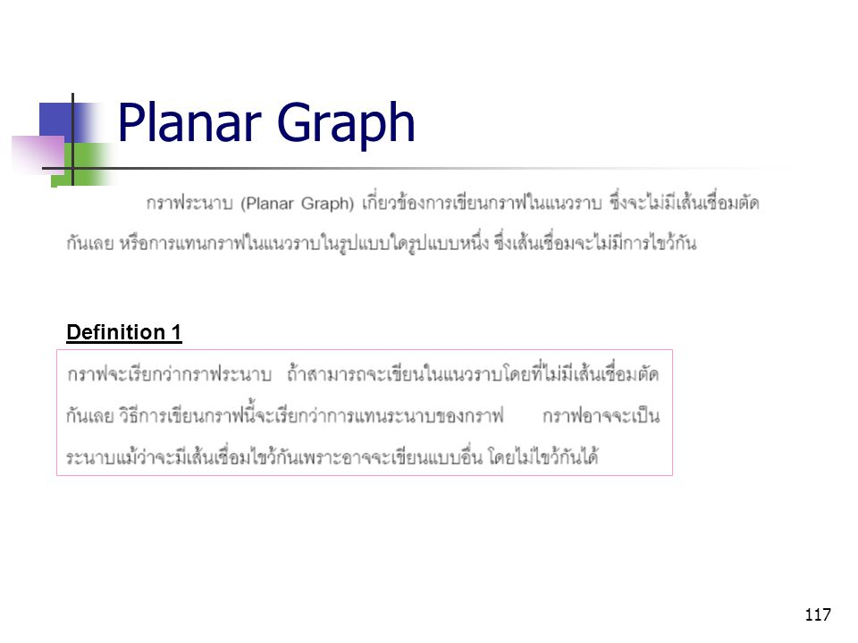 Planar Graph Definition 1