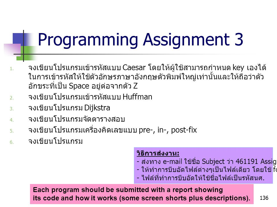 Programming Assignment 3