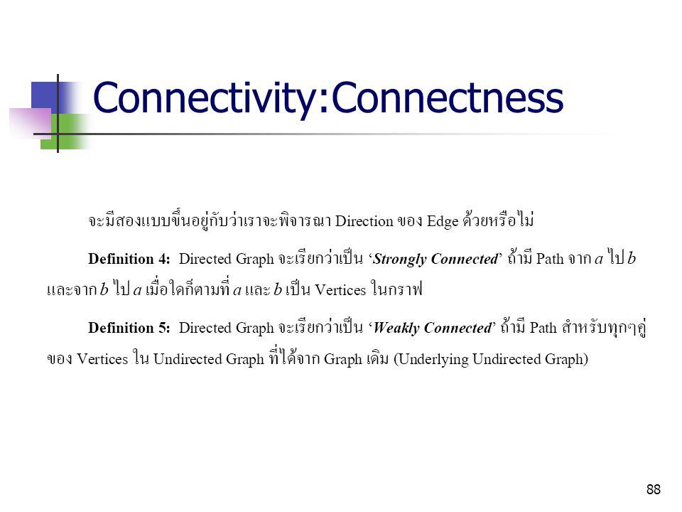 Connectivity:Connectness