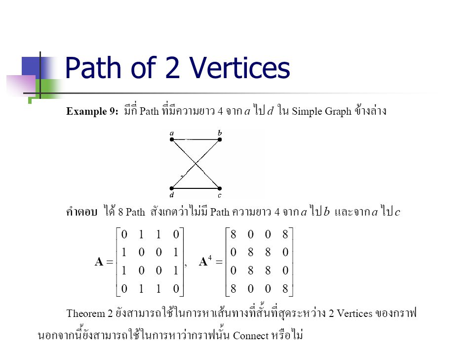 Path of 2 Vertices