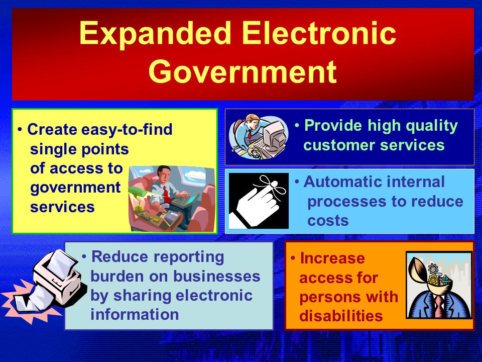 Expanded Electronic Government