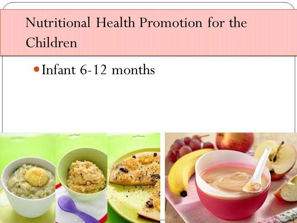 Nutritional Health Promotion for the Children