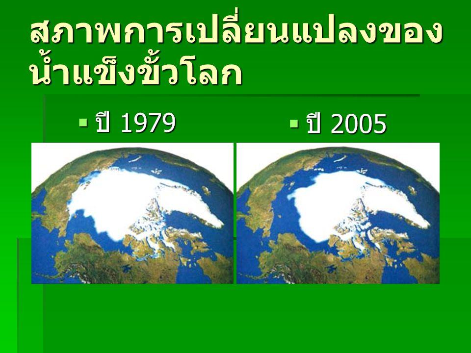 สภาพการเปลี่ยนแปลงของน้ำแข็งขั้วโลก
