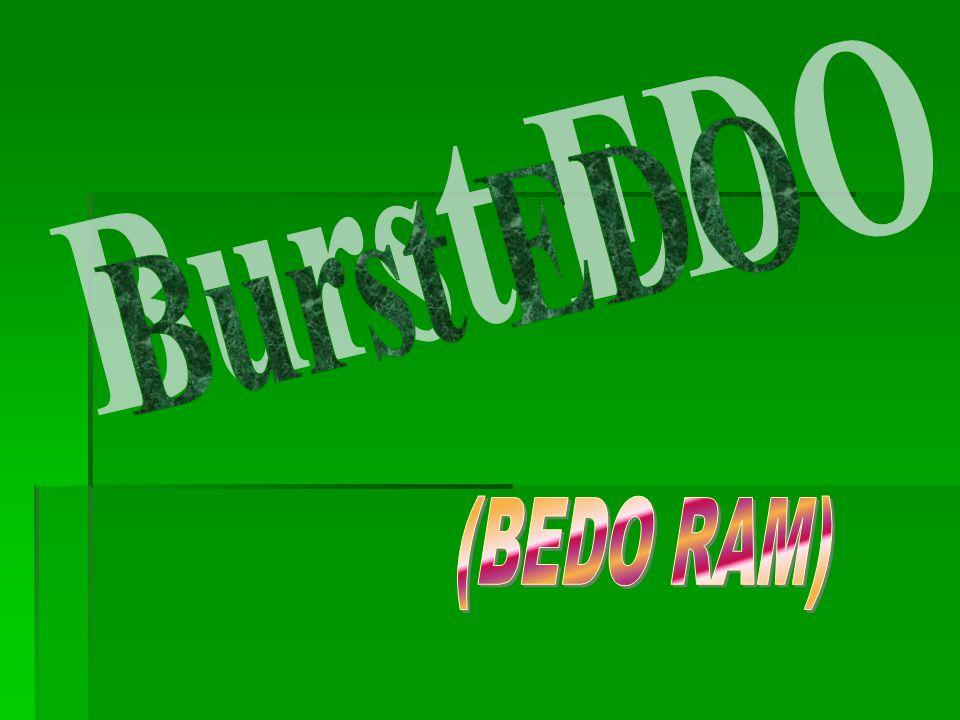 Burst EDO (BEDO RAM)