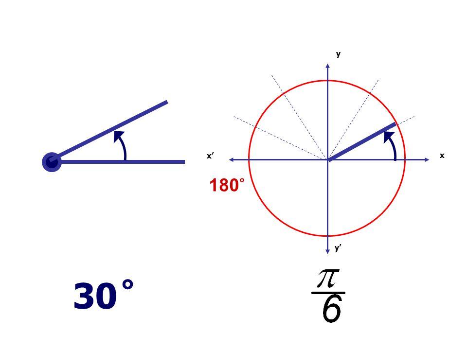 x x' y' y 180 ̊ 30 ̊