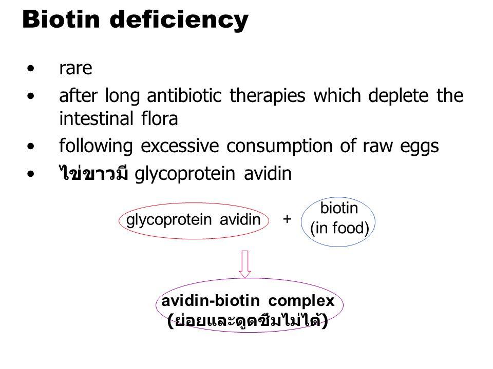 avidin-biotin complex (ย่อยและดูดซึมไม่ได้)