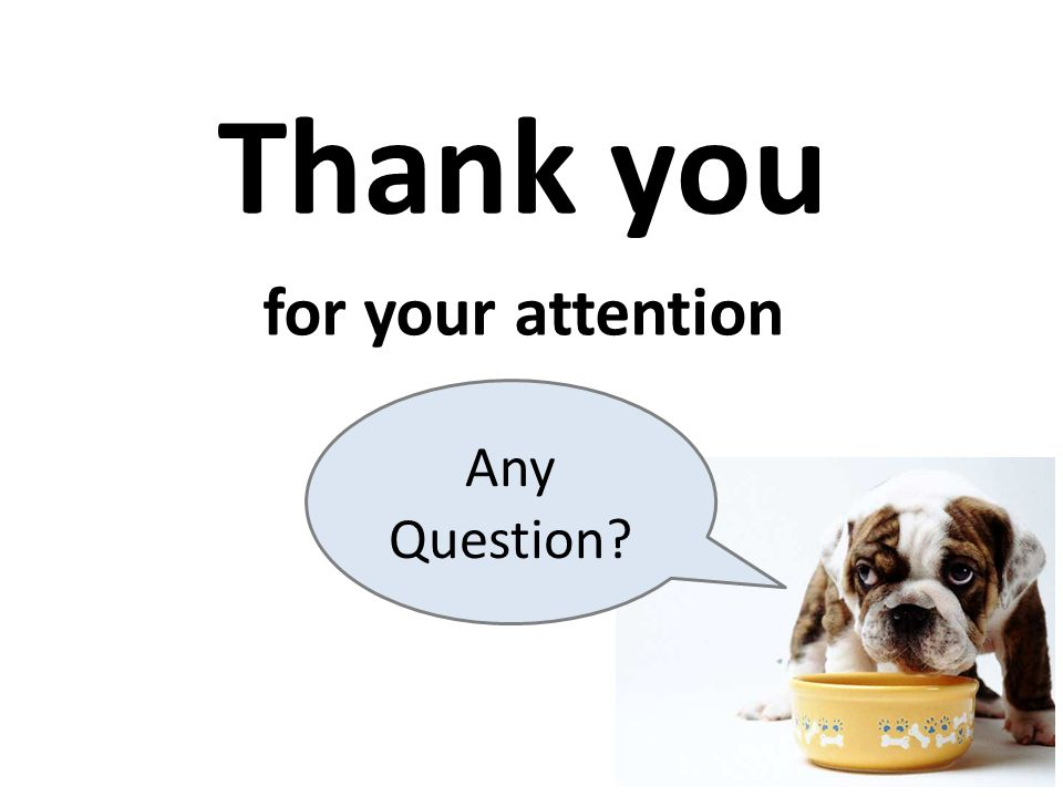 Thank you for your attention Any Question สรุป