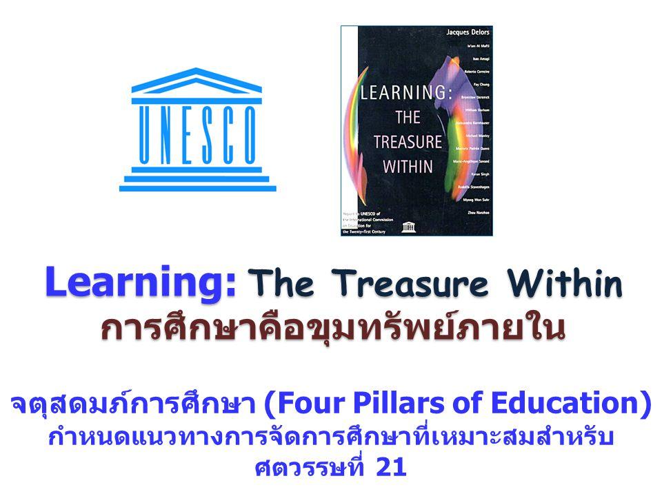 Learning: The Treasure Within การศึกษาคือขุมทรัพย์ภายใน