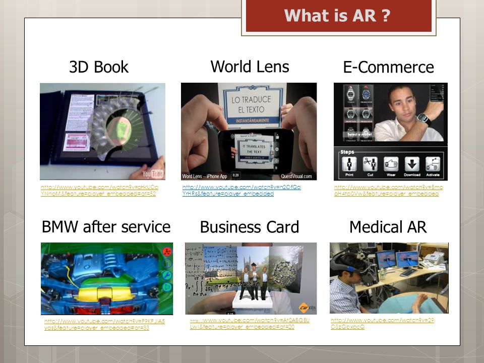 What is AR 3D Book World Lens E-Commerce BMW after service