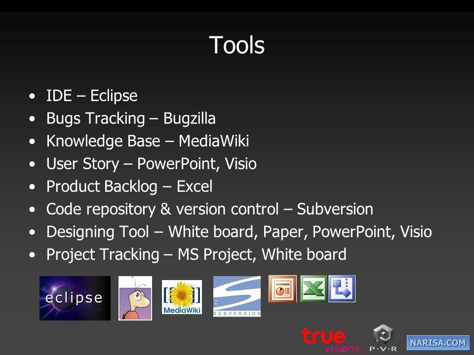 Tools IDE – Eclipse Bugs Tracking – Bugzilla