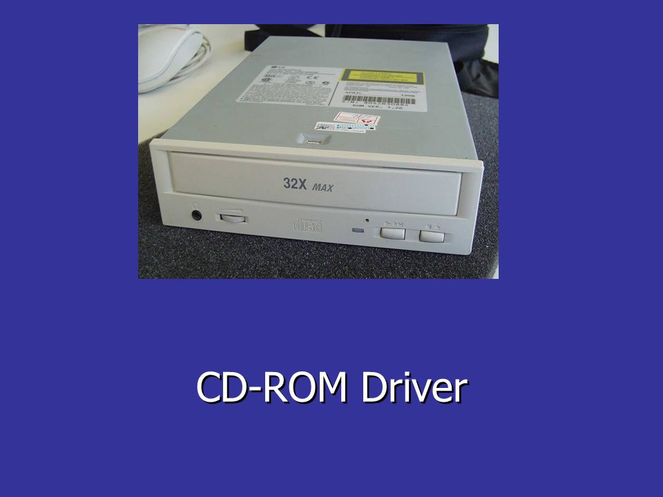 CD-ROM Driver