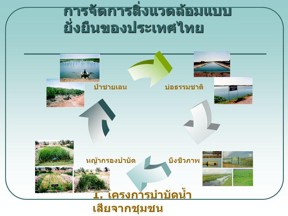 การจัดการสิ่งแวดล้อมแบบยั่งยืนของประเทศไทย