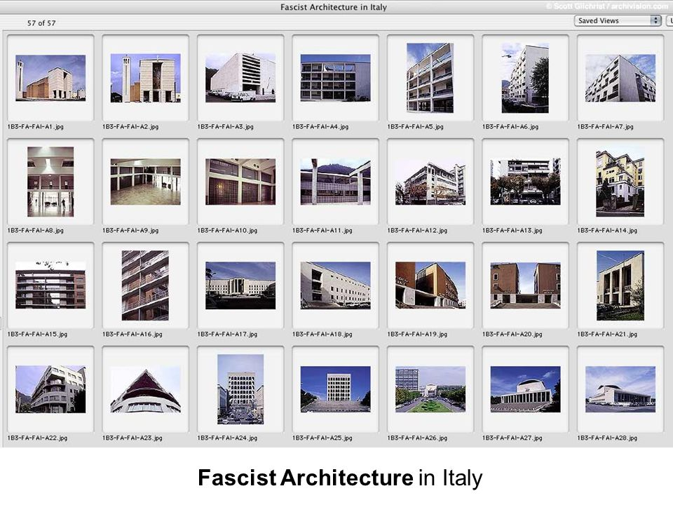 Fascist Architecture in Italy
