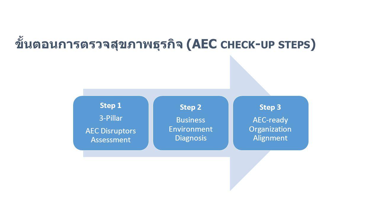 ขั้นตอนการตรวจสุขภาพธุรกิจ (AEC check-up steps)