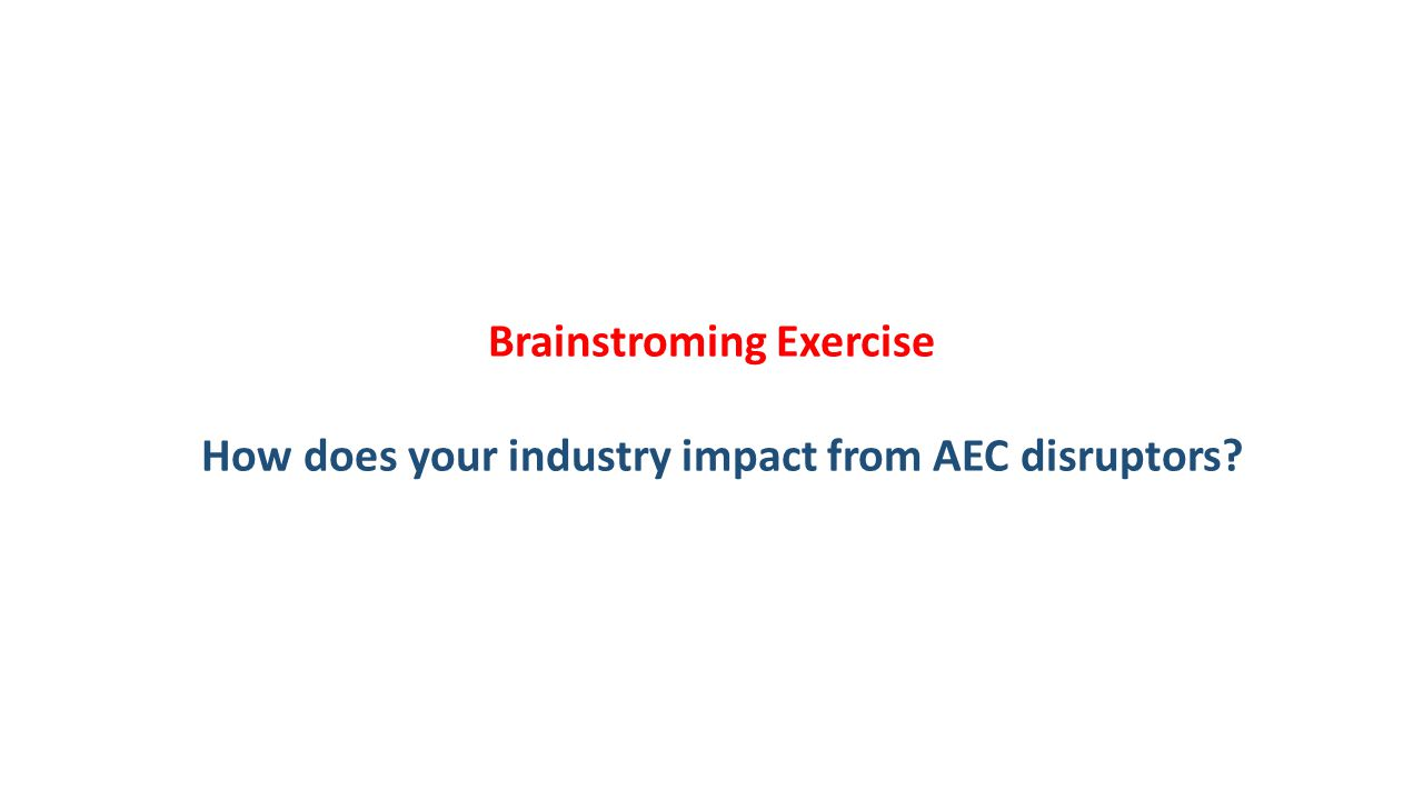Brainstroming Exercise