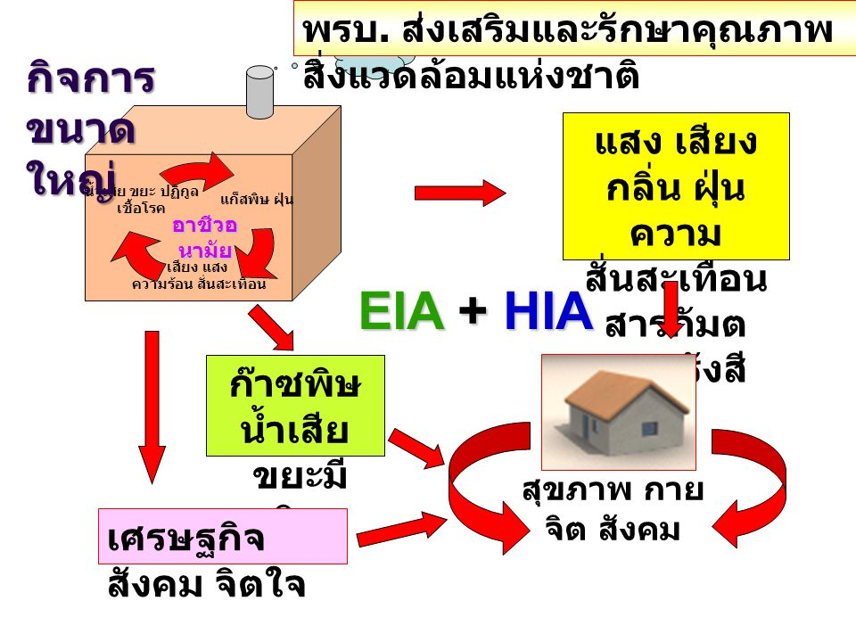 EIA + HIA กิจการขนาดใหญ่