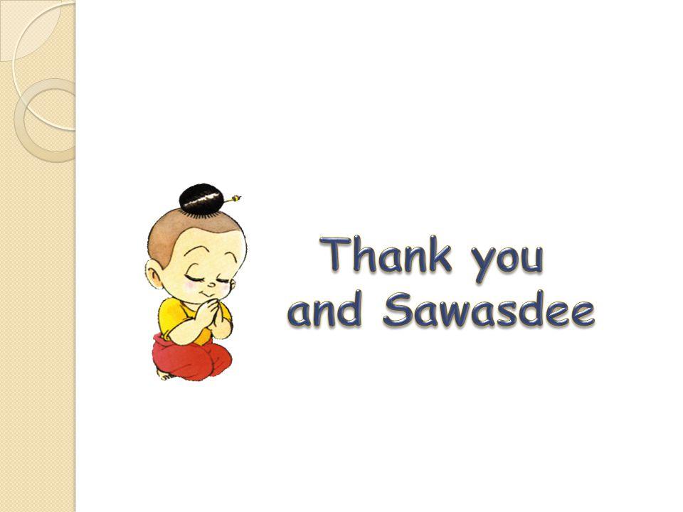 Thank you and Sawasdee