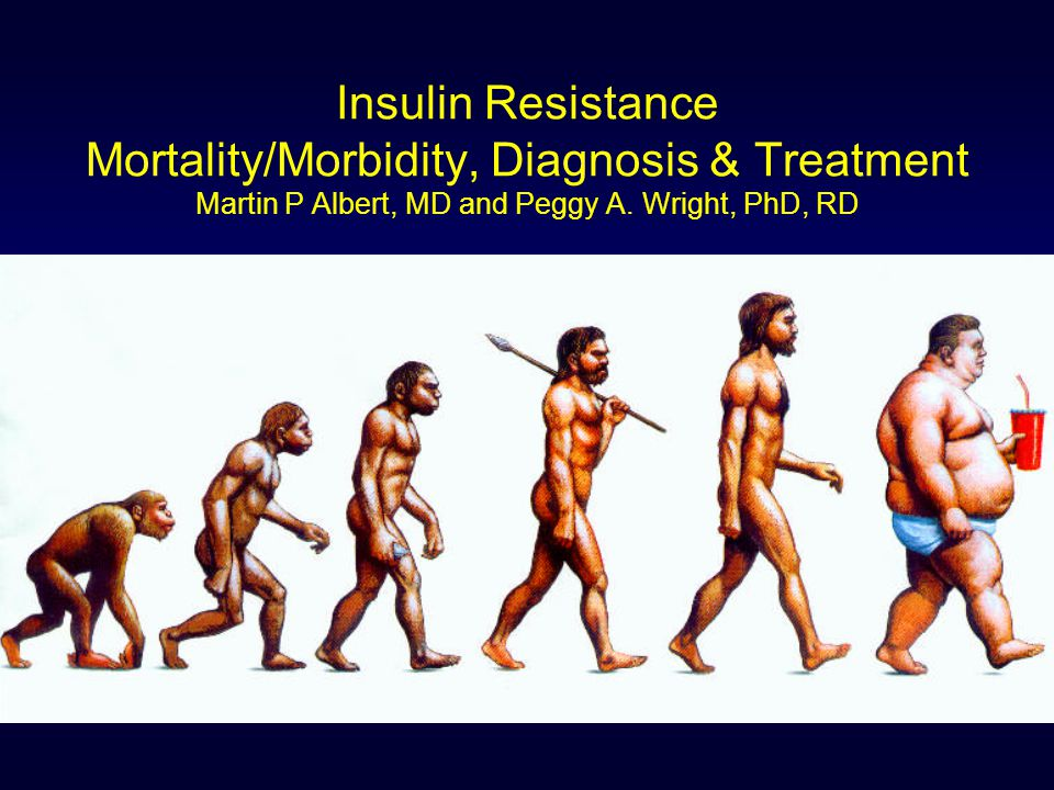 Insulin Resistance Mortality/Morbidity, Diagnosis & Treatment Martin P Albert, MD and Peggy A.