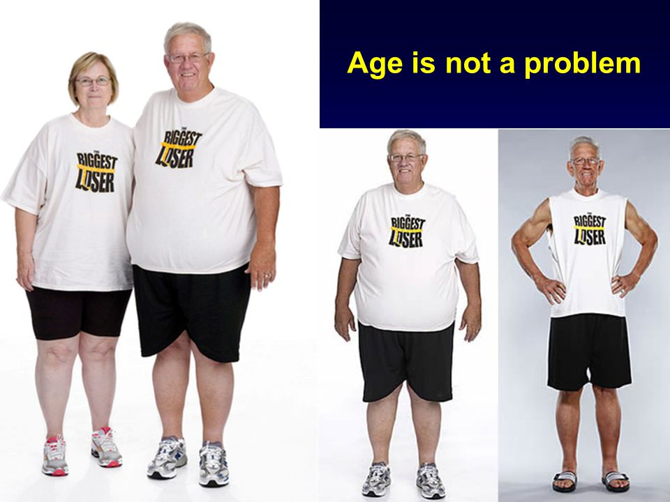 Age is not a problem