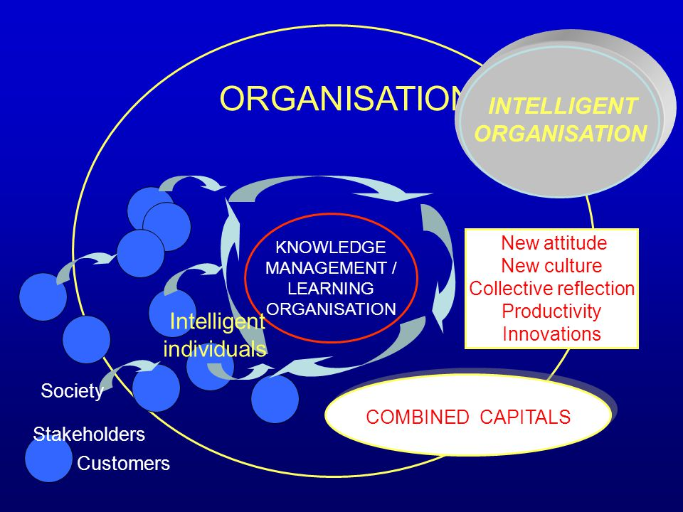 individuals New culture Collective reflection Productivity Innovations