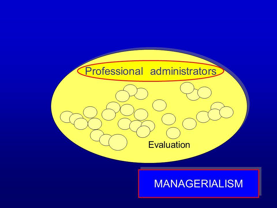 Professional administrators