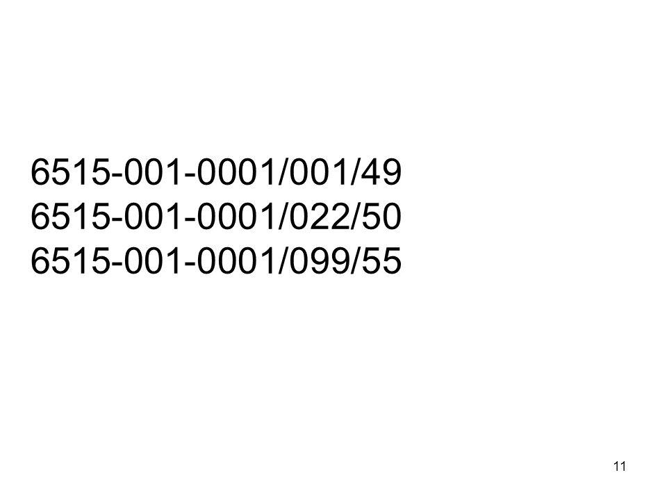 6515-001-0001/001/49 6515-001-0001/022/50 6515-001-0001/099/55