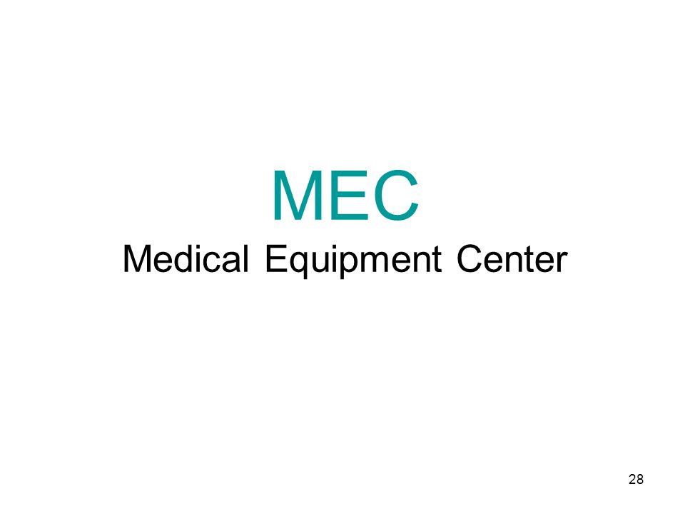 MEC Medical Equipment Center