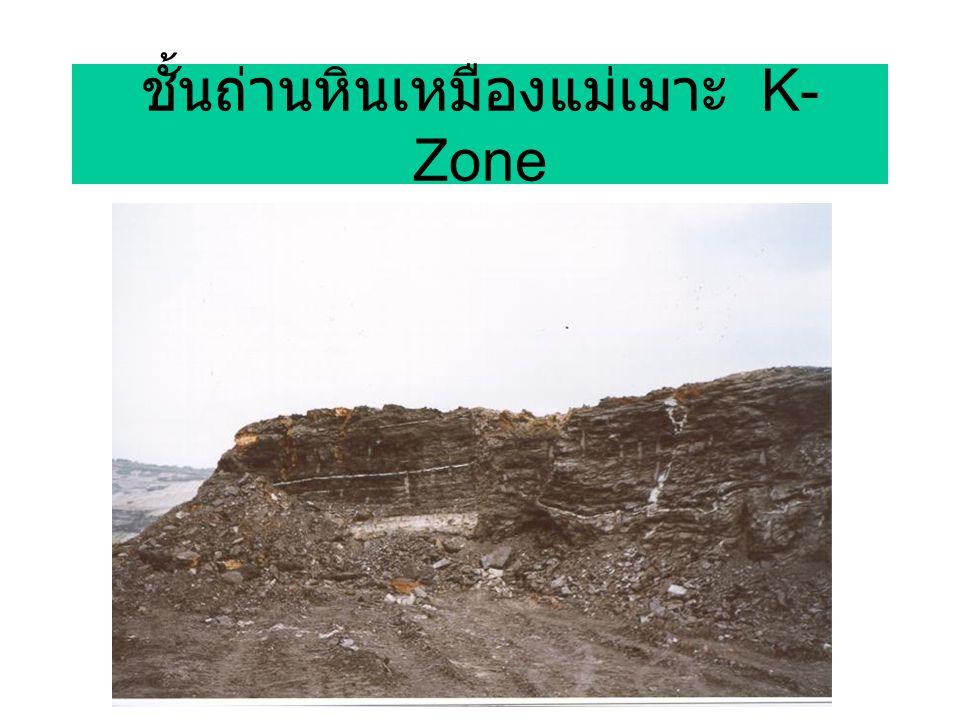 ชั้นถ่านหินเหมืองแม่เมาะ K-Zone