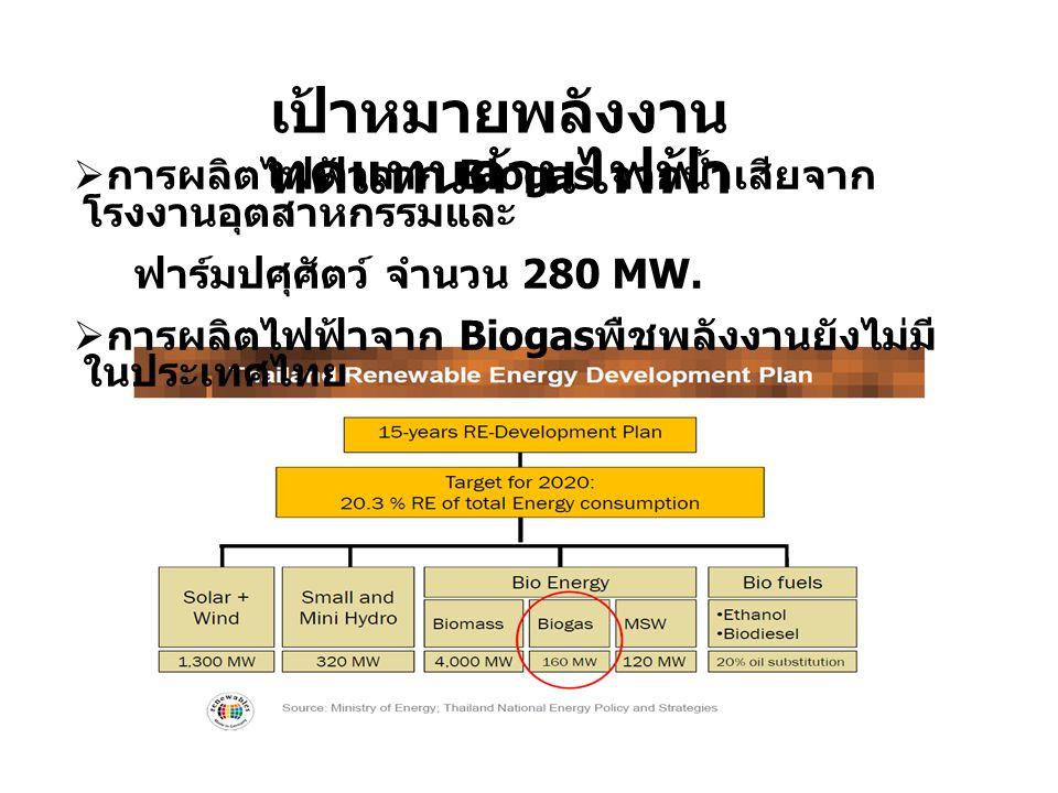 เป้าหมายพลังงานทดแทนด้านไฟฟ้า