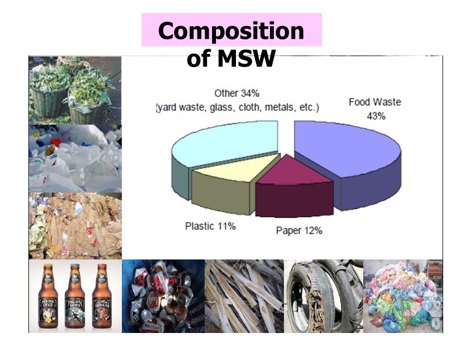Composition of MSW