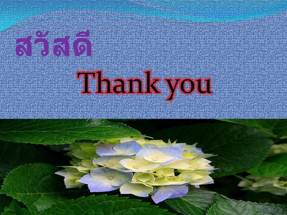 สวัสดี Thank you