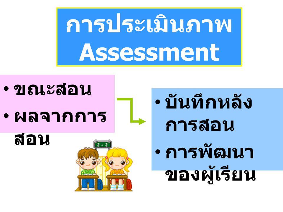 การประเมินภาพ Assessment
