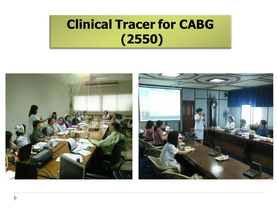 Clinical Tracer for CABG (2550)