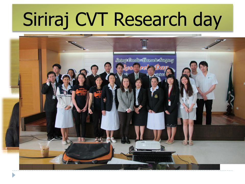 Siriraj CVT Research day