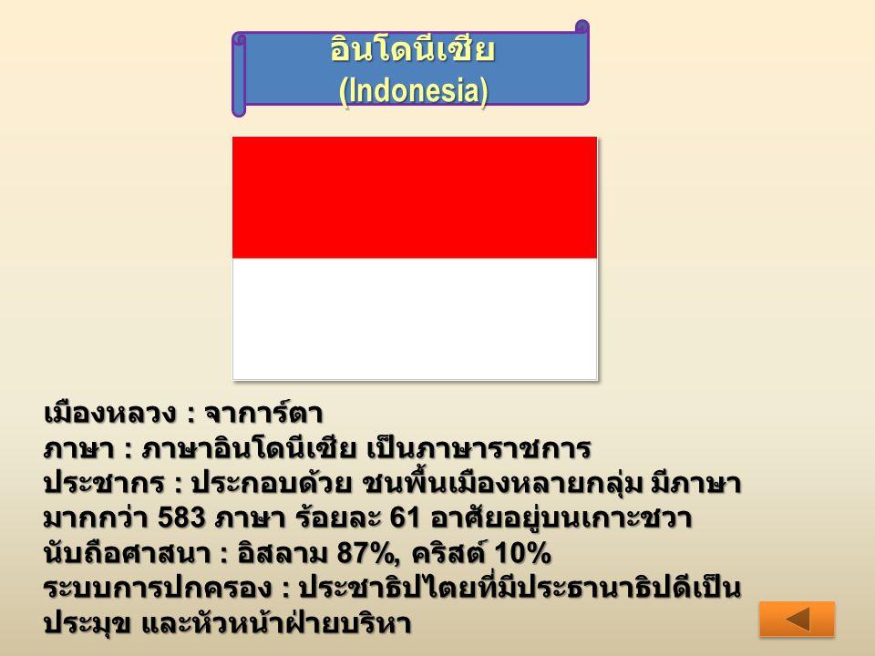 อินโดนีเซีย (Indonesia)