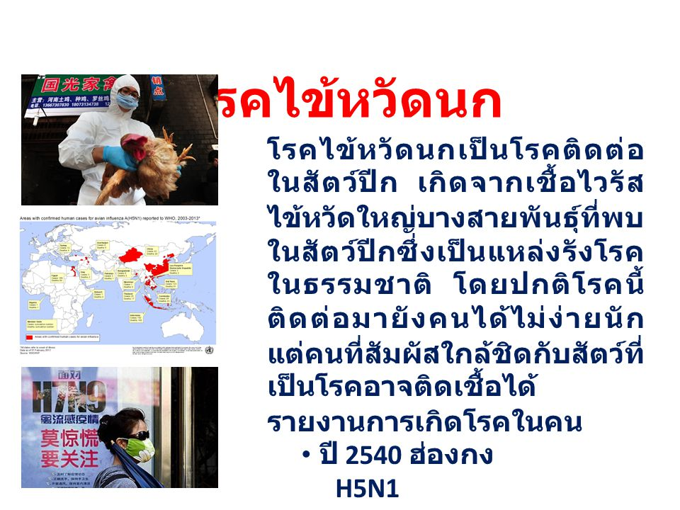 โรคไข้หวัดนก ปี 2542 ฮ่องกง H9N2