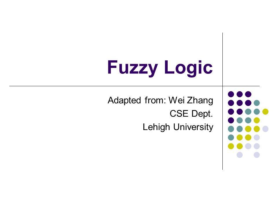 Adapted from: Wei Zhang CSE Dept. Lehigh University