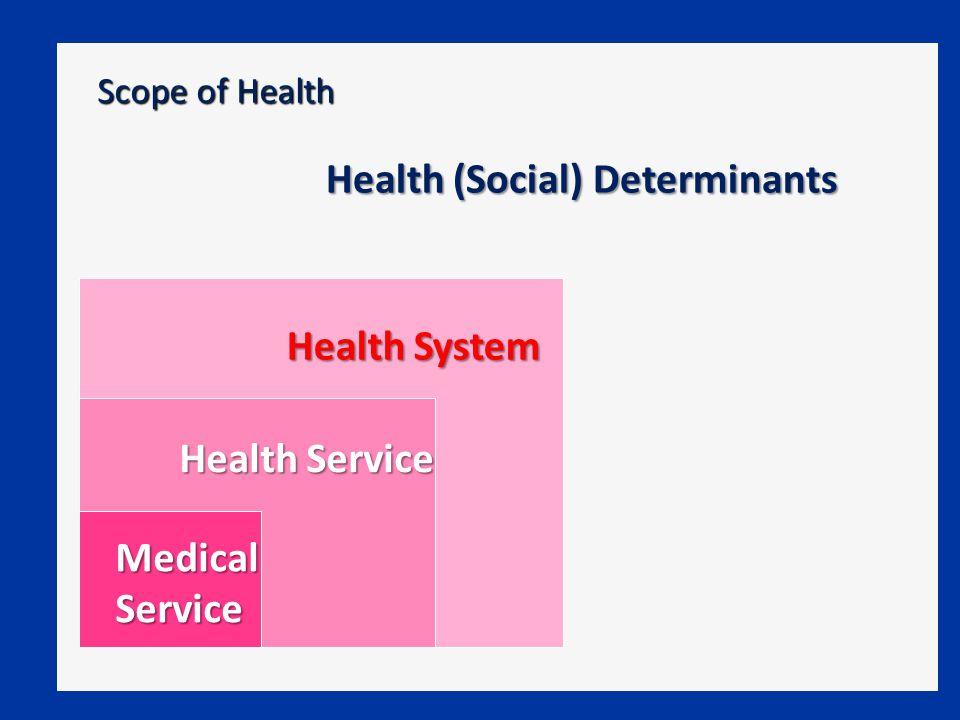 Health (Social) Determinants