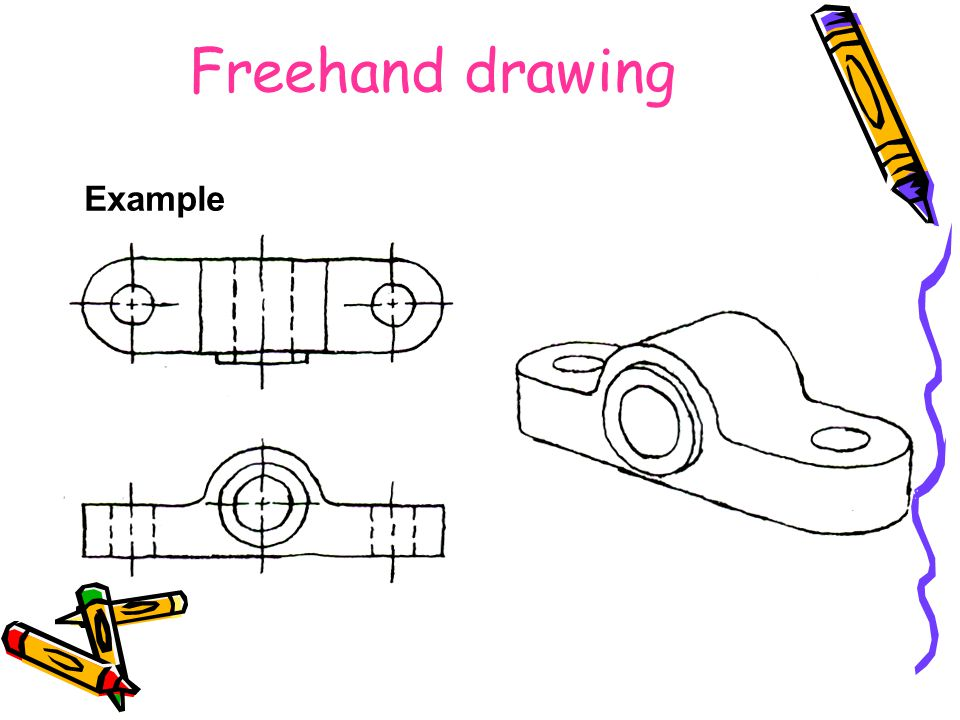 Freehand drawing Example