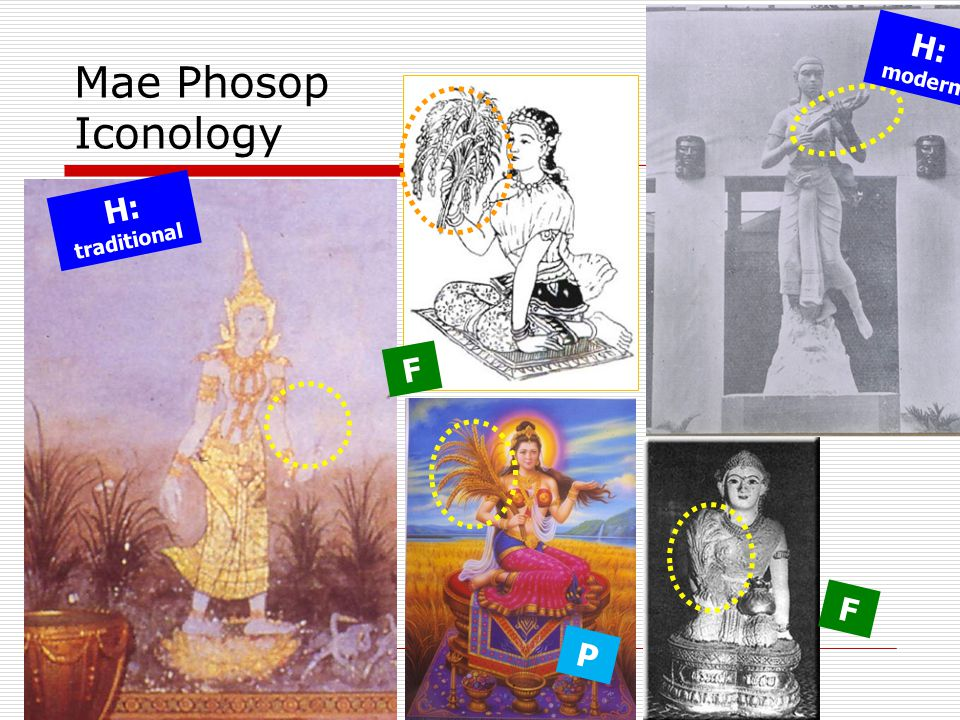 H: modern Mae Phosop Iconology H: traditional F F P