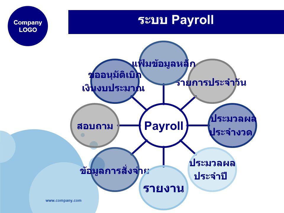 ระบบ Payroll